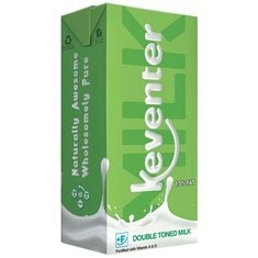 Keventer Double Toned Milk - 1l