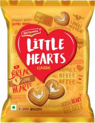 Britannia Little Hearts Classic Biscuits - 34.5g